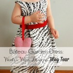 Winter Wear Designs Blog Tour – Bateau Garden dress