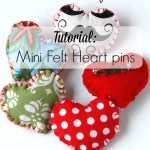 Tutorial: Cute Felt Heart Pin
