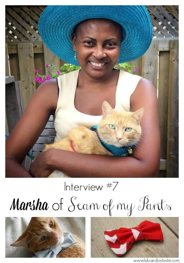 Interview with Marsha of Seam of my Pants