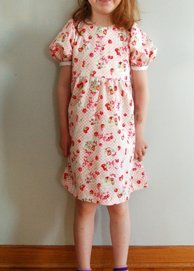 Jocole Endless Dress sewn by Lulu & Celeste