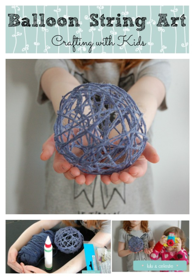 Balloon String Art