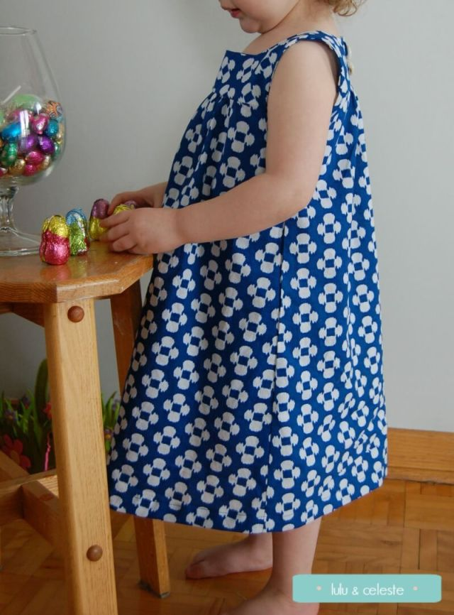 An Easter dress for Miss V