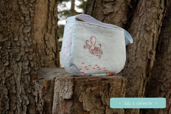 Darling Daisy bag sewn by Lulu & Celeste