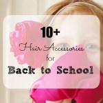 Back to School: DIY Hair Accessories