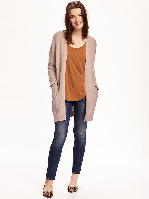 Old Navy long open front cardi