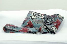 Upcycled Necktie Wristlet