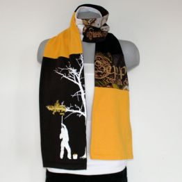 Upcycled T-Shirt Scarf
