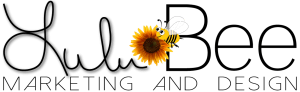Lulu Bee Marketing and Design Logo