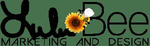 Lulu Bee Marketing and Design Logo
