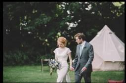 Bride-and-groom-bell-tent-wedding