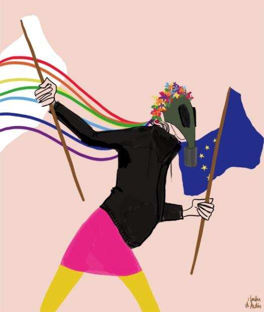 Euro maidan - Lulu d'Ardis