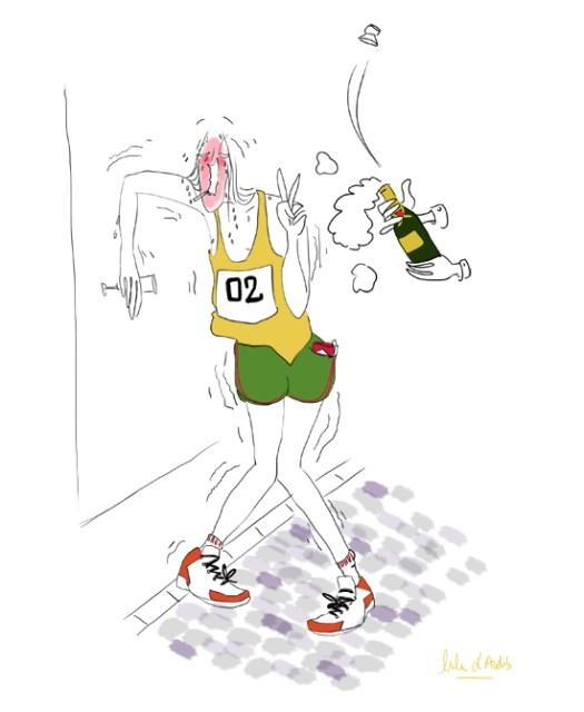 Marathon de paris - Lulu d'ardis