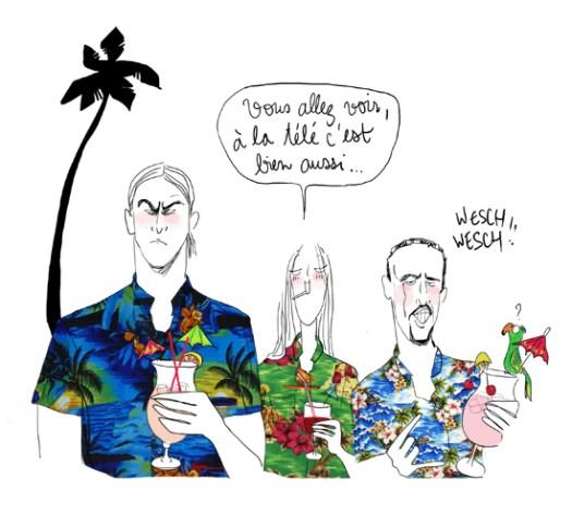 Ibra-Ribéry-Hawai-Lulu d'Ardis
