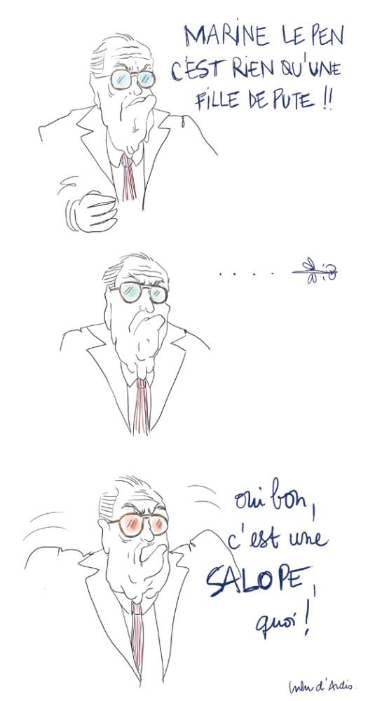 Le Pen - Lulu d'ardis