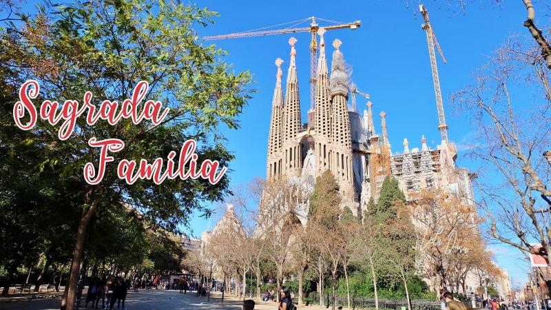 西班牙 巴塞隆納·聖家堂購票、參觀、必拍景點-世界文化遺產