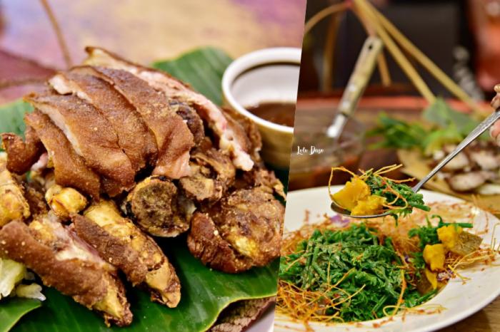 日月潭美食 新山味超好吃的邵族風味原住民料理・在日月潭大街上交通方便又美味呀