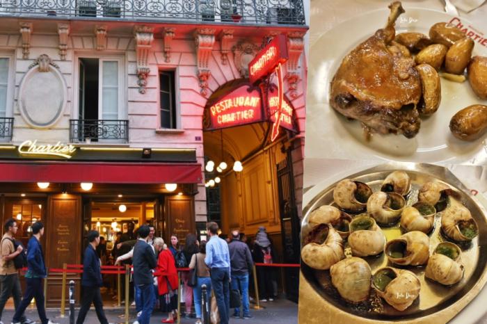 巴黎餐廳推薦|Le Bouillon Chartier 便宜平價體驗法國料理文化·好吃又實惠的巴黎美食