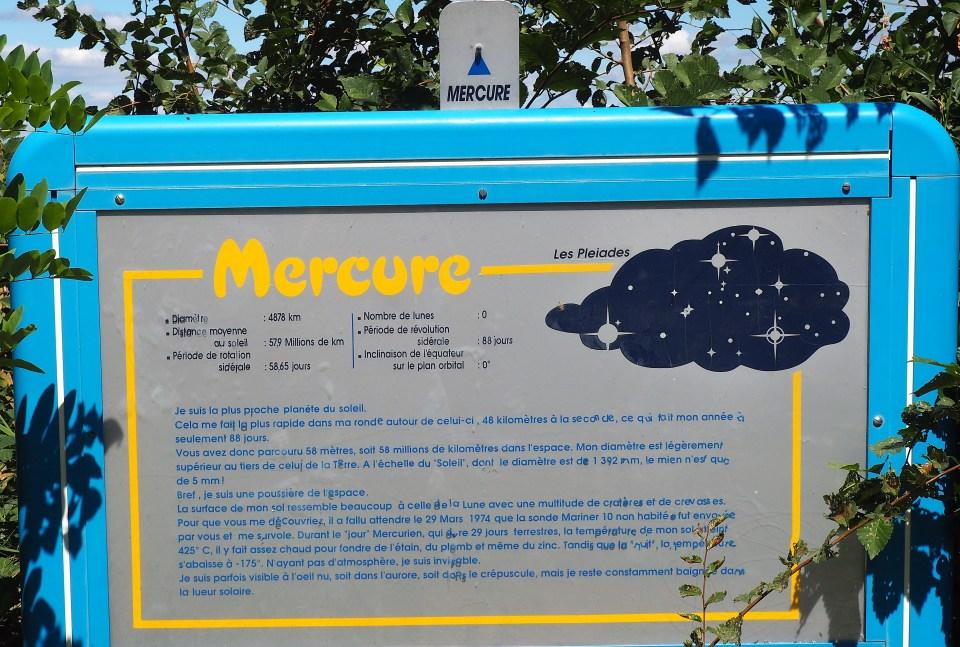 Sentier de la Découverte - Mercure