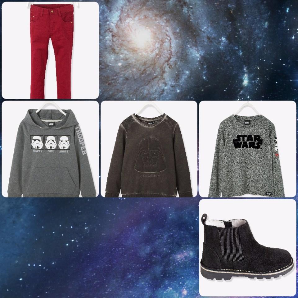 Garde robe d'automne Star Wars