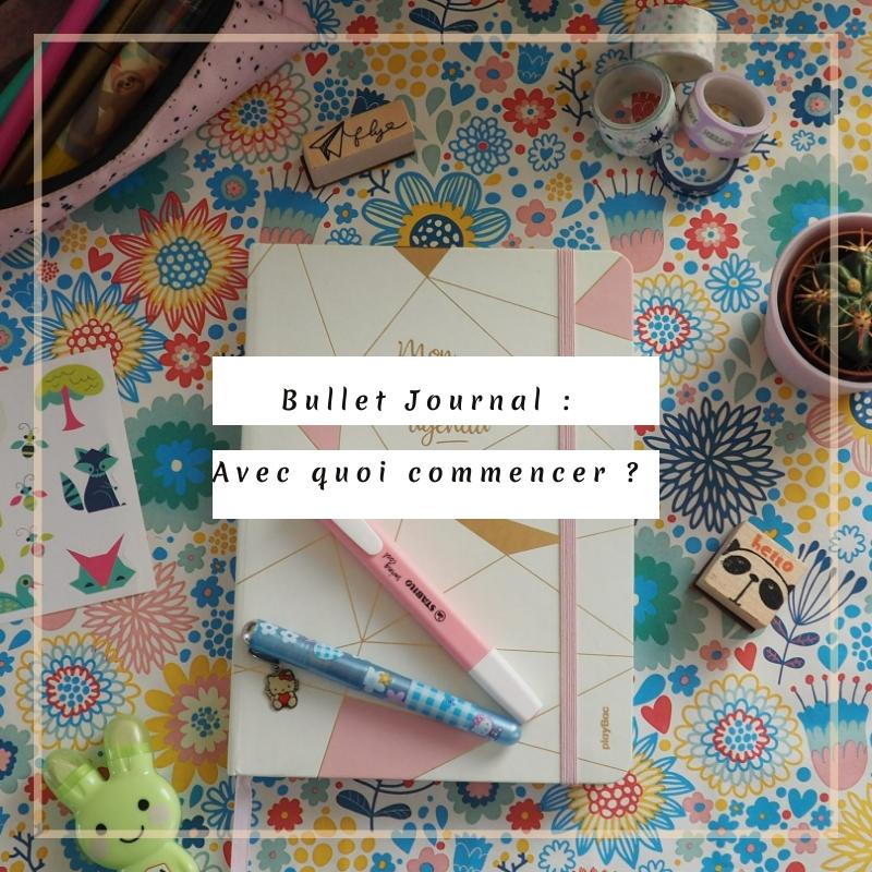 Démarrage Bullet Journal