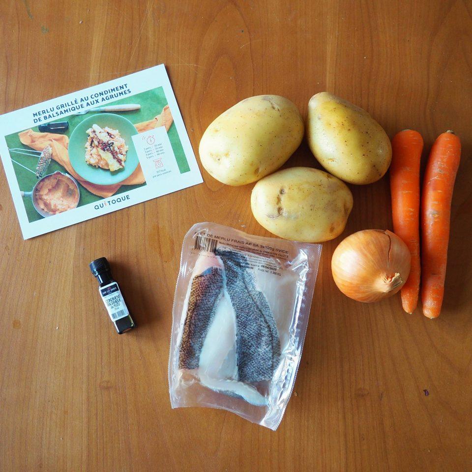 Quitoque - préparation poisson