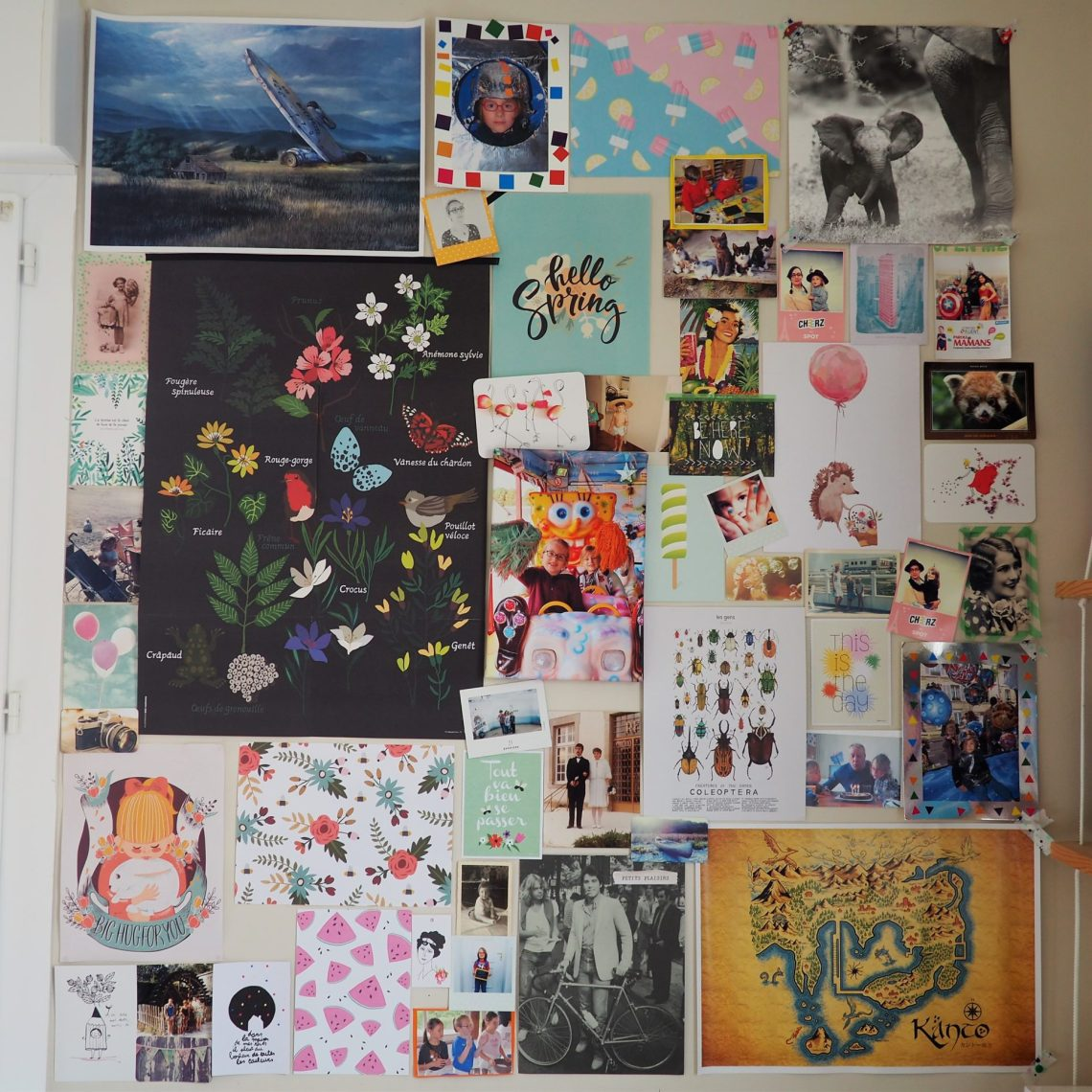 Cheerz - mur d'image toile