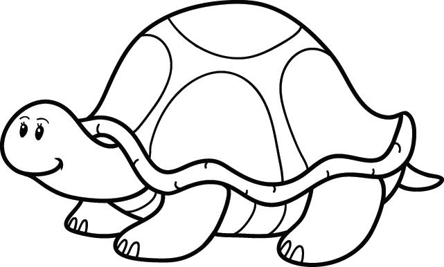 coloriage une tortue lulu la taupe