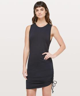Cinch it Dress in black