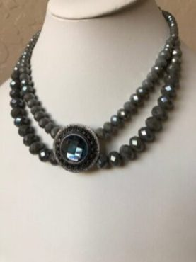 Vintage style beaded necklace