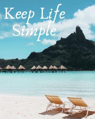 Keep Life Simple Printable