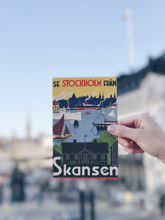 Postcard from Stockholm © Luisa Sancelean