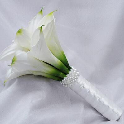 Букет из калов свадебный