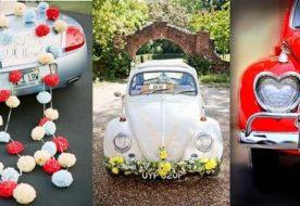 Как сделать украшение свадебных машин своими руками?