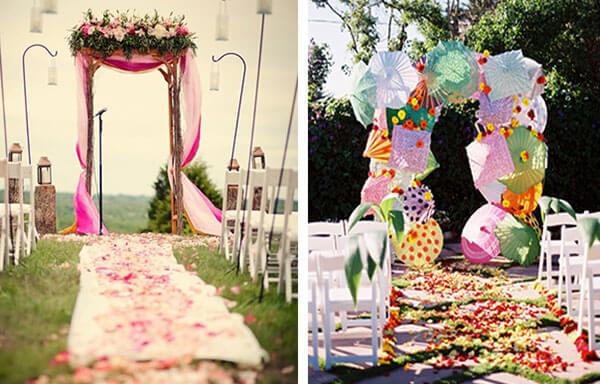 П-образные свадебные арки