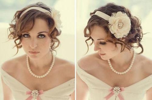 Простая прическа для невесты своими руками