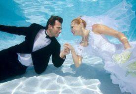 Оригинальный сценарий свадьбы: в стиле джаз, кантри или под водой?