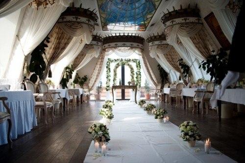 место проведения винтажной свадьбы