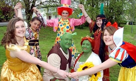 сказочные персонажи для свадьбы в стиле сказки