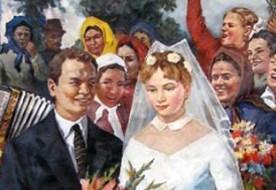 Свадьба в стиле СССР – забавное путешествие в недавнее прошлое