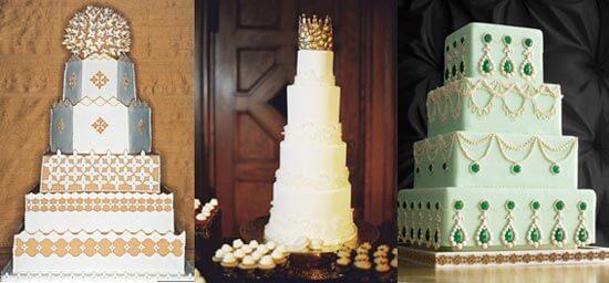 торты для свадьбы в стиле сказка
