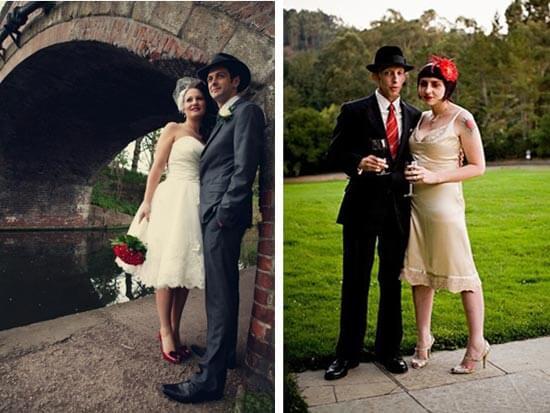 Невеста в ретро стиле 30-х