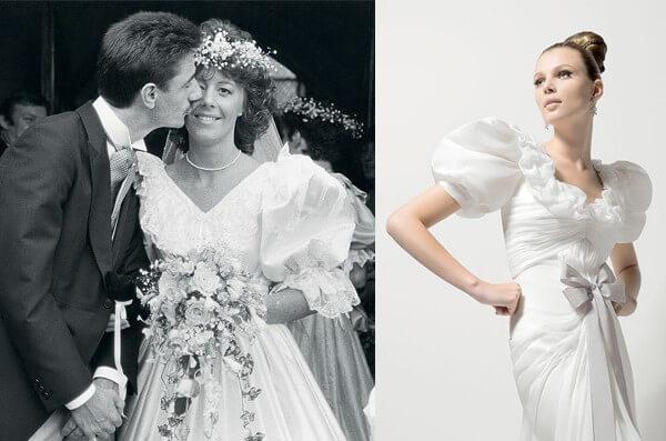 Свадебное платье в стиле СССР