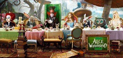 Оформление свадьбы в стиле Алиса в стране чудес