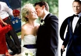 Свадьба в стиле Джеймса Бонда - роскошь, шик и непредсказуемость