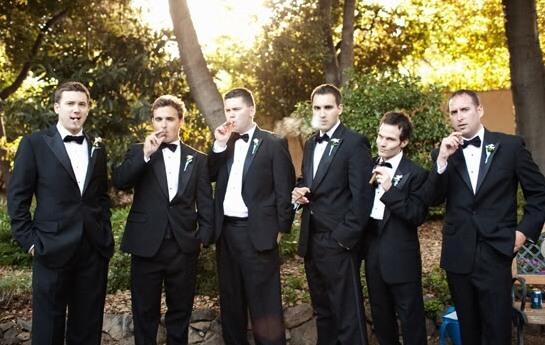 образ мужчин на свадьбе