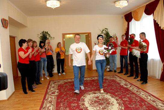 свадьба в стиле СССР