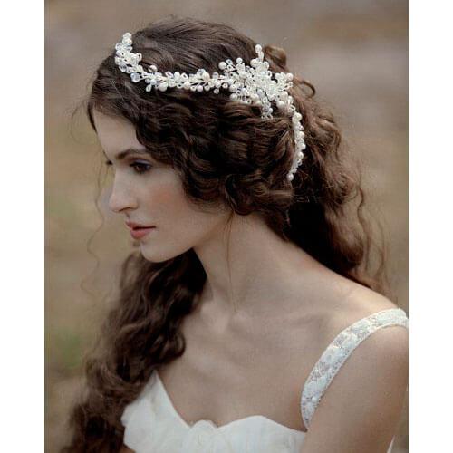 Свадебная прическа греческая коса 9
