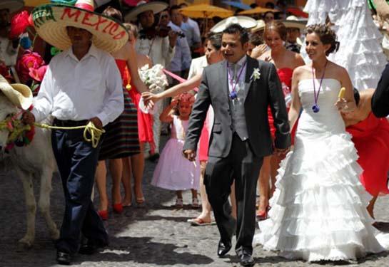 Свадьба в стиле Мексики