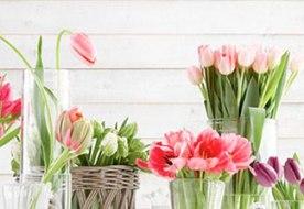 Букет невесты из тюльпанов – очарование свежести и юности