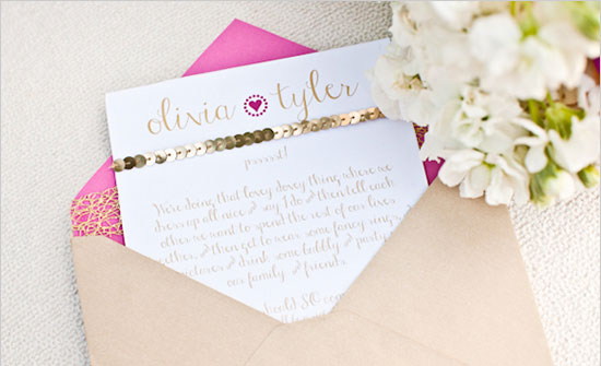Изысканное свадебное приглашение в стиле Барби